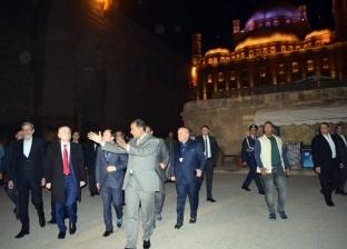 رئيس ألبانيا يزور قلعة صلاح الدين في أثناء زيارته لمصر