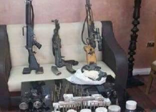 ضبط قطع أسلحة و115 جرامات هيروين وتنفيذ 1877 حكم قضائى فى كفر الشيخ