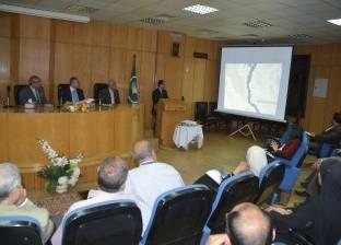 """محافظ المنيا يتابع مع نائب وزير الإسكان مشروعات """"التطوير الحضري"""""""