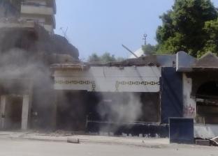 حي السيدة زينب يبدأ في إزالة 11 عقار بميدان أبوالريش