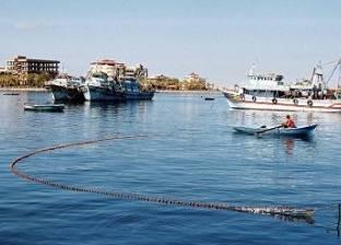 توقف أعمال الملاحة بميناء البرلس في كفر الشيخ بسبب سوء حالة الطقس