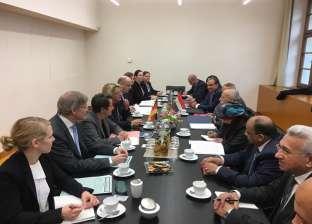 الوفد المصري بألمانيا يلتقي وزيرة البيئة الألمانية لبحث إدارة المخلفات