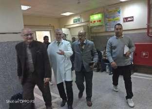 """وكيل """"صحة أسيوط"""" يتفقد مستشفى المبرة لمتابعة سير العمل"""