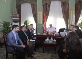 رئيس جامعة عين شمس يستقبل وفد الاتحاد الأوروبي للتعليم العالي