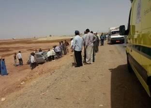 إصابة 5 في انقلاب سيارة بطريق «الضبعة - القاهرة» الإقليمي