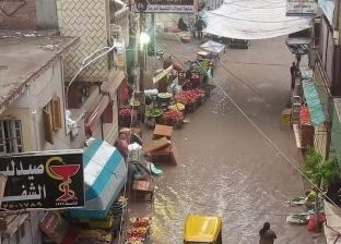 أمطار رعدية غزيرة تجتاح الشرقية وانقطاع تيار الكهرباء