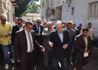"""محافظ بني سويف يوجه بإعداد تقارير عاجلة عن """"تطهير الترع"""""""
