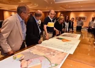 مميش يستقبل وفدا من بنك قناة السويس لاستعراض المشروعات التنموية