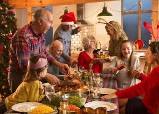أكلات على مائدة الكريسماس.. ما سر الديك الرومي؟