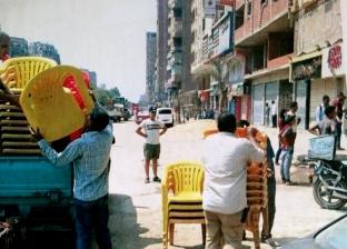 إزالة 1389 مخالفة إدارية وتحرير 473 محضر إشغال ومرافق بأحياء القاهرة