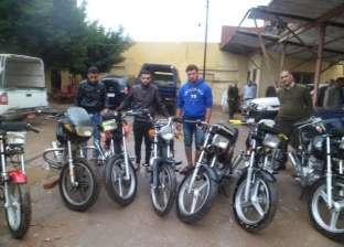 ضبط تشكيل عصابي تخصص في سرقة الدراجات البخارية بالقصير