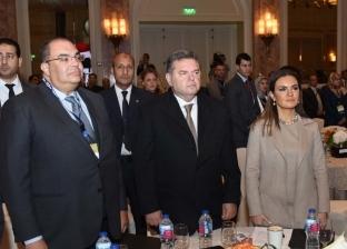 """بدء مؤتمر """"البورصات العربية"""" بعزف السلام الجمهوري"""