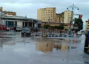 """موجة من الطقس السيئ بالمنوفية.. وبائعو """"شارع مصر"""" يشكون عدم وجود تندات"""