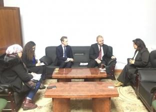 نائب وزير الزراعة تبحث مع سفير نيوزيلاندا الجديد تعزيز التعاون المشترك