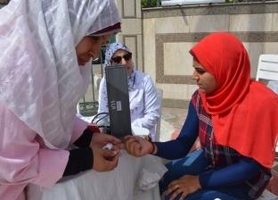 محافظة الغربية تنظم حملة للتبرع بالدم في طنطا