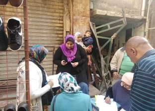 يضم 14 أسرة.. سقوط خزان مياه على عقار بالإسكندرية دون وفيات أو إصابات