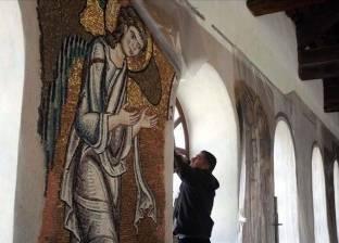  ترميم كنيسة المهد.. إعادة إحياء ما أخفاه الدهر من روائع المكان