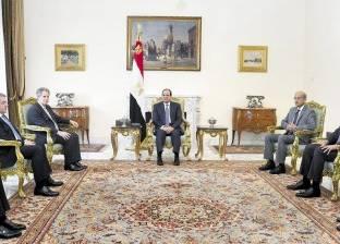 «السيسى» لـ«النقد الدولى»: الإصلاح الاقتصادى برنامج وطنى طموح.. ومصر على الطريق الصحيح