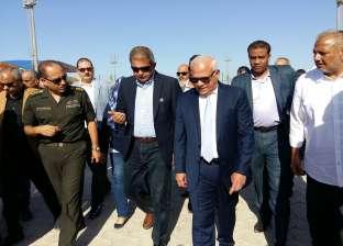 وزير الرياضة: القرية الأولمبية ببورسعيد من أكبر المشروعات خلال 2017