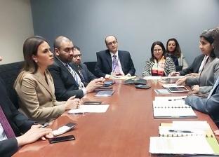 نصر ونائب رئيس البنك الدولي يبحثان دعم مشروعات البنية الأساسية