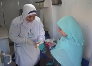 """قوافل """"الداخلية"""" الطبية تفحص 322 مواطنا في الجمعيات الخيرية"""