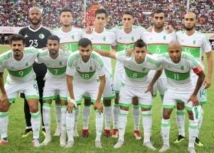 """فيديو """"فاضح"""" يتسبب في استبعاد لاعب منتخب الجزائر قبل أمم إفريقيا"""