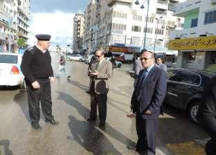 أمن المطار يضبط 46 هاربا من تنفيذ الأحكام و543 مخالفة مرورية