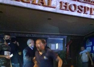 نقل 4 أطفال حديثي الولادة من مستشفى بالإسكندرية بعد اندلاع حريق به