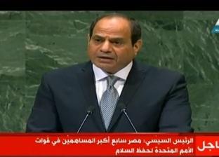 السيسي: لا مجال للحلول الجزئية في سوريا وليبيا واليمن