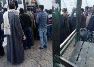 بالصور| شهود عيان عن دهس قلاب لطالبة أزهرية في أبو تيج: بدون أرقام