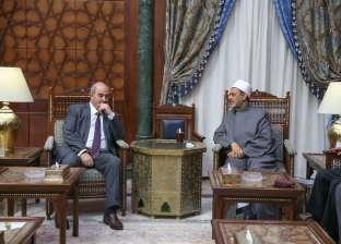 نائب الرئيس العراقي: جهود شيخ الأزهر فندت ادعاءات التنظيمات الإرهابية