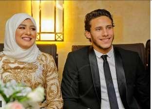 بالصور| عمرو دياب يحيي حفل زفاف حبيبة إكرامي ورمضان صبحي