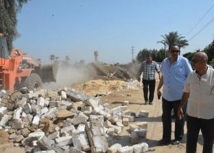 محافظة المنيا تنفذ الموجة الـ11 من حملات استرداد أراضي الدولة