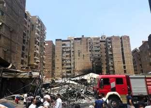 السيطرة على حريق مخزن بالقناطر دون خسائر بشرية