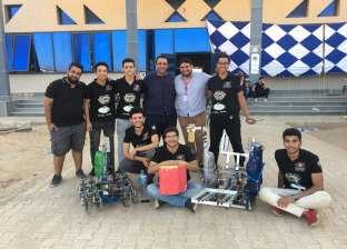 """طلاب """"هندسة هليوبوليس"""" يحققون المركز الثالث في مسابقة الروبوكون"""