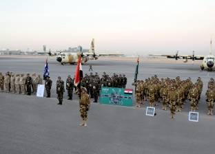 عناصر من القوات المسلحة تشارك فى تدريبات درع الخليج المشترك