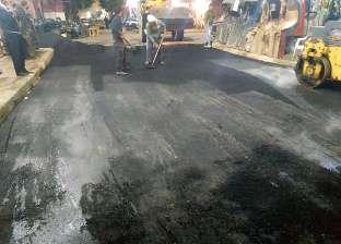 """""""طرق جمرك الإسكندرية"""" تنتهي من إصلاح الهبوط بعد كسر ماسورة مياه"""