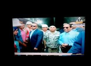 عاجل| بدء الاحتفال بمرور عام على افتتاح قناة السويس الجديدة