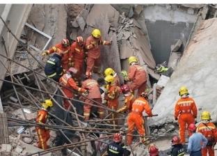 إنقاذ 11 شخصا من أسفل أنقاض مبنى منهار في الصين