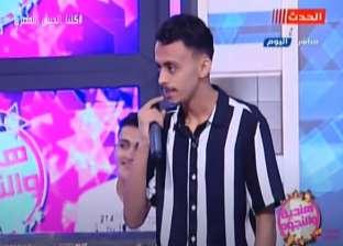 """فيديو.. حلمي بكر ينفعل على """"كزبرة"""" ويطرده من الاستديو: فاكر نفسك فين؟"""
