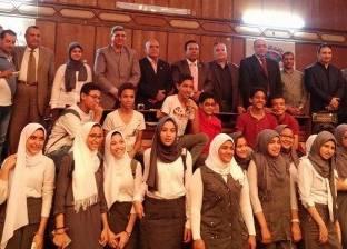 تنظيم مسرح المنوعات لشباب الجامعات بمركز نيل إعلام بنها