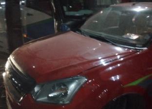 إصابة شخصين في تصادم أتوبيس ونصف نقل على الطريق الزراعي بطوخ