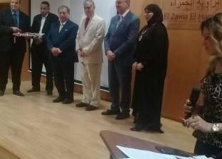 جمعية الإعلاميين تمنح المبدعين المصريين والعرب الميدالية الذهبية