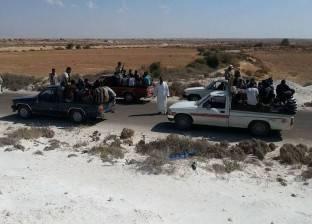 الأجهزة الأمنية تضبط 29 متسللا إلى ليبيا في السلوم