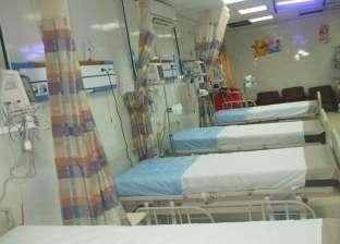 مستشفى العريش العام يستقبل 5 مصابين فلسطينيين لعلاجهم