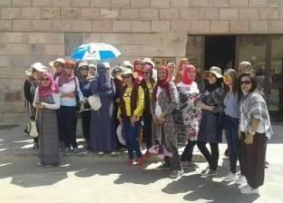 """510 شباب يزورون معالم الأقصر ضمن برنامج """"اعرف بلدك"""""""