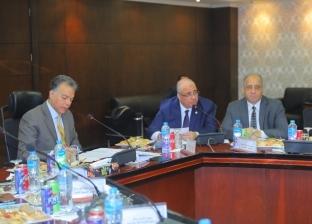 بالصور  وزير النقل يترأس اجتماع الجمعية العامة العادية لشركة المترو