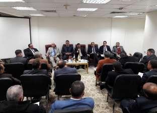 """""""مستقبل وطن"""" يعقد اجتماعا تنظيما مع أمناء التنظيم في حضور رئيس الحزب"""