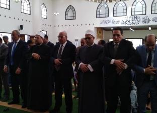 وزير الأوقاف يفتتح مسجد الرحمن الرحيمفي الغردقة