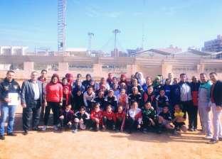150 لاعبة فى دورة كرة القدم النسائية فى طنطا: تحيا الستات